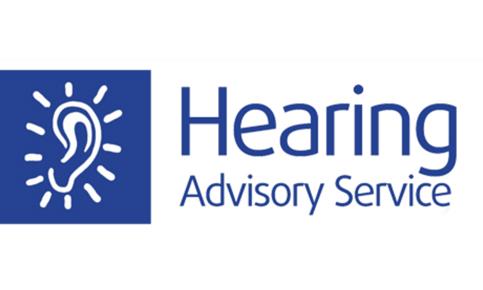 Hearing advisory logo