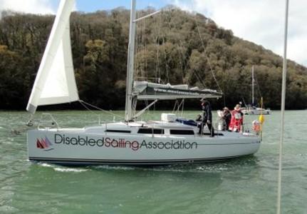 Disabled Sailing Association boat