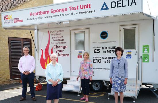Heartburn Cancer Test unit