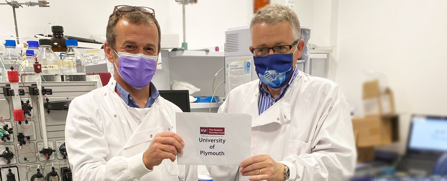 Grant given - University of Plymouth